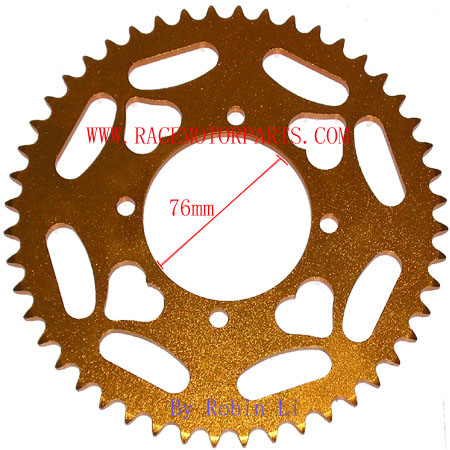 4 Stroke 48Tooth Gold Alloy Sprocket For 428 Chain