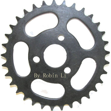 4 Stroke  110cc Super Bike X6 33Tooth Rear Sprocket For 420 Chai